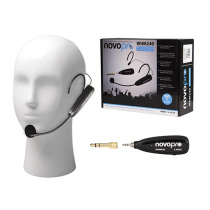 Novopro WHM240 rechargeable wireless headset microphone system