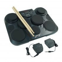 Johnny Brook Electronic Drum Machine with 7 Drum Pads Digital Drum