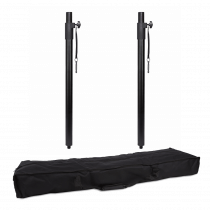 2x Rhino M20 35mm Speaker Poles inc Padded Bag