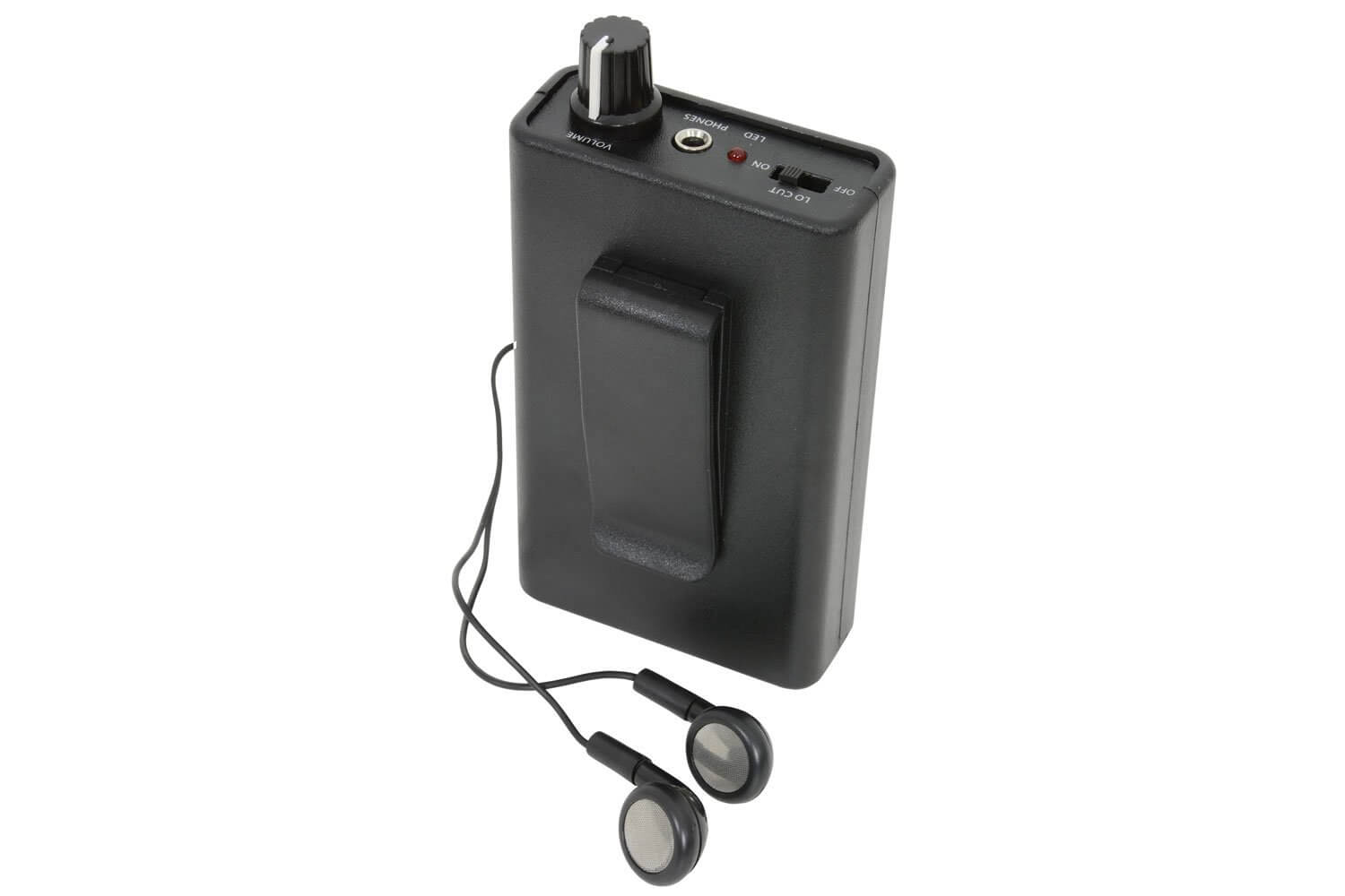 Adastra LR2 Induction Hearing Loop Receiver Tester Battery Powered