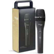 Stagg SDM80 Metal Dynamic Instrument Microphone Handheld