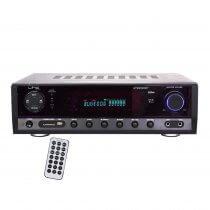 LTC Stereo Amplifier inc. FM, Bluetooth and Karaoke