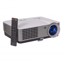 LTC VP2000 LED Video Projector 2000 Lumen HDMI VGA Projection Laptop DVD