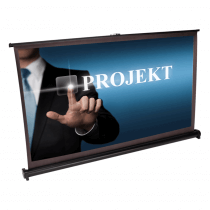"LTC PST40 DESKTOP PROJECTION SCREEN 40"" 16/9 Self Supporting Mobile Presentation"