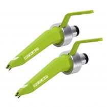2x Reloop Concorde Green Needle Optimized for DVS Timecoded Vinyl