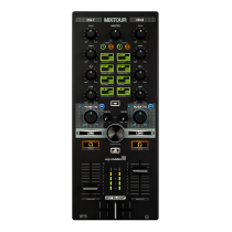 Reloop Mixtour 2-Channel All-in-One DJ Midi Controller (iOS | Android | USB | PC | Mac)