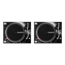 2x Reloop RP-7000MK2 Professional Direct Drive Turntables (Black)
