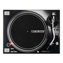 Reloop RP-7000MK2 Professional Direct Drive Turntable (Black)