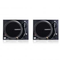 2x Reloop RP-1000MK2 DJ Belt Drive Turntables