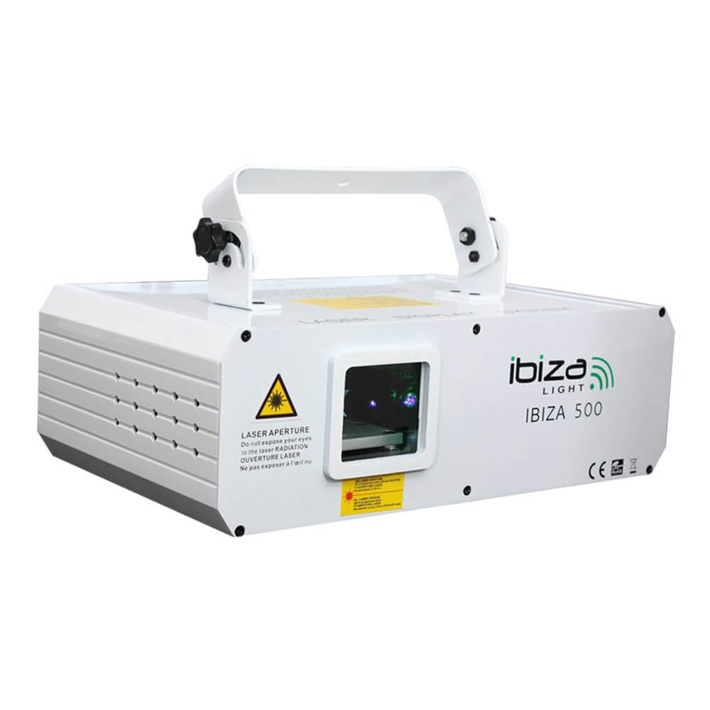 Ibiza RGB Show Scanner Laser 500MW Tunnel Wave Effect Lighting Animation