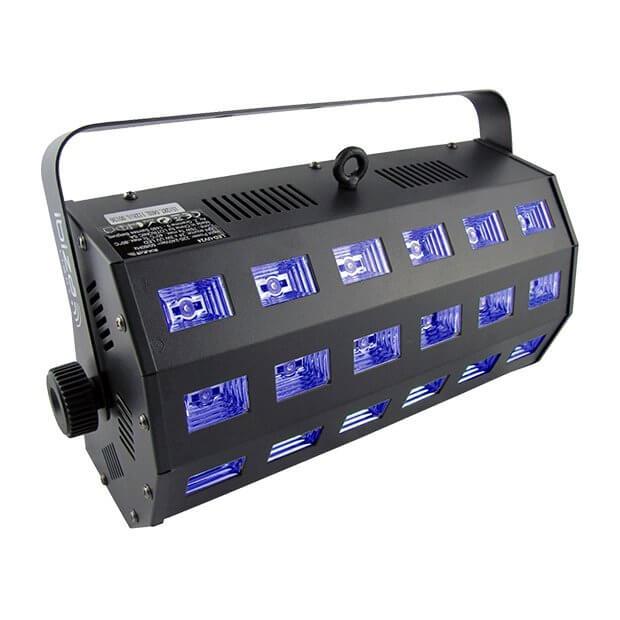 Ibiza Light LED-UV24 High Power UV Flood 24 x 3W LED