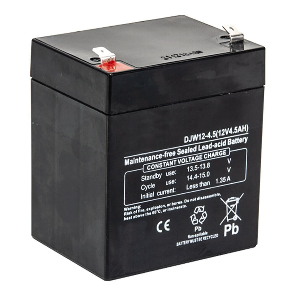 Ibiza Sound Replacement Battery PORT10VHF-BT, PORT12VHF-BT 12V 4.5AH