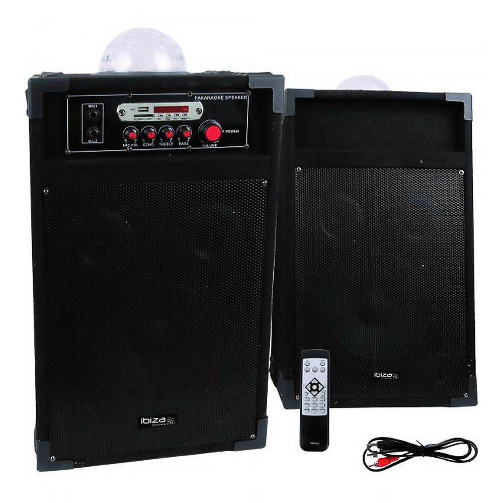 "Ibiza Sound 8"" 600W Bluetooth PA System"