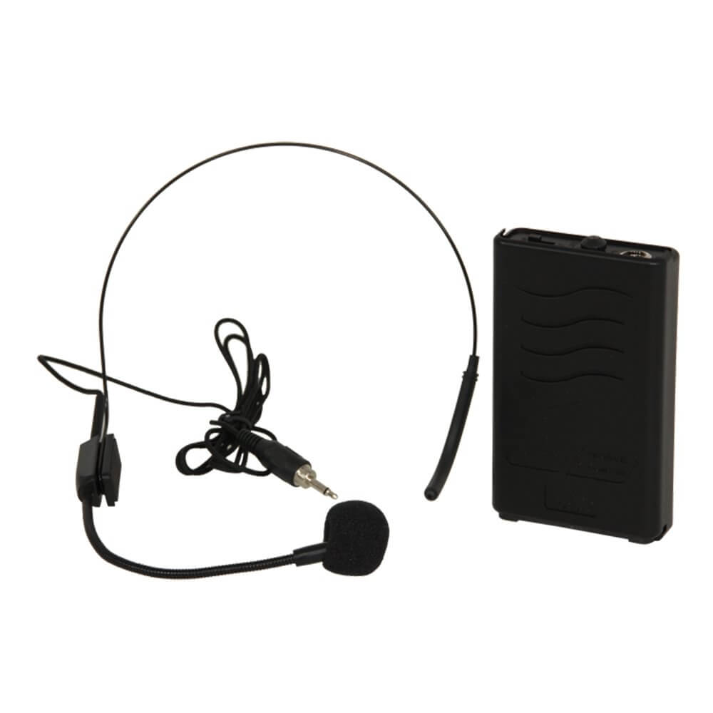Ibiza Port8-10-12-15uhf 863mhz Headset Mic Transmitter Beltpack for Portable PA
