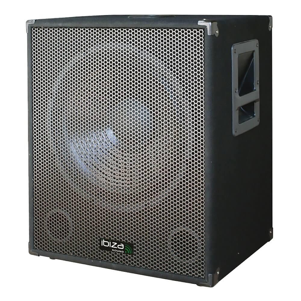 "Ibiza Sound 800W 15"" Active Subwoofer"