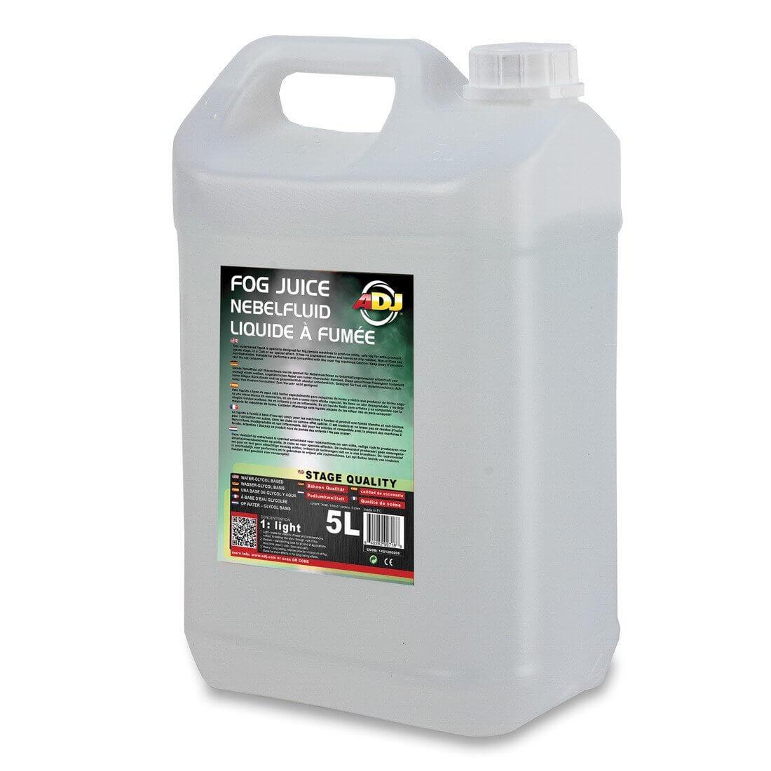 ADJ Fog Juice Light 5 Litres