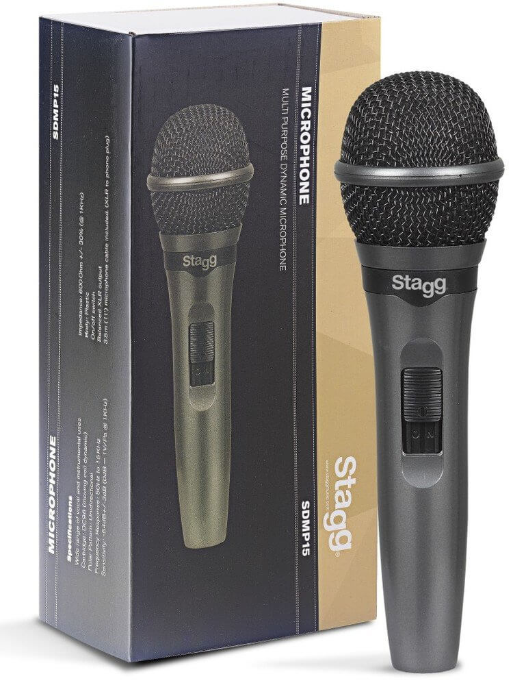 Stagg SDMP15 Dynamic Vocal Microphone Handheld