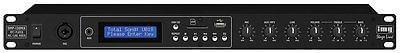 IMG Stageline DMP-130MIX 1U Rack Mixer MP3 USB Player *BStock*