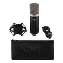 IMG Stageline ECMS-50USB USB Studio Condenser inc. Mount, Case and Cable