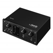 IMG Stageline MX-1IO 1 Channel Recording Interface USB Computer Phantom Power