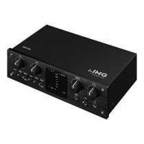 IMG Stageline MX-2IO 2 Channel Recording Interface USB Computer Phantom Power