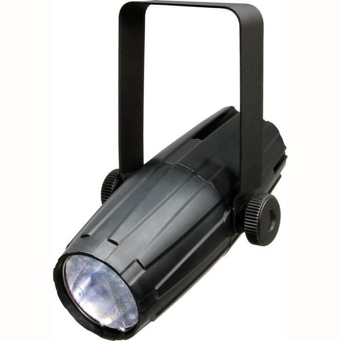 Chauvet LED Pinspot 2.0 Spot Pin Light Thin Beam for Mirrorball Includes Filters