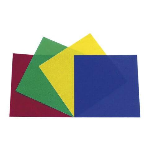 Showtec PAR 56 Colour Film Set Gel Filter Pack Red Green Blue Yellow
