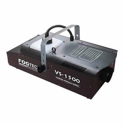 Fogtec VS1500 smoke fog machine DMX 1500w inc wireless remote & wired remote