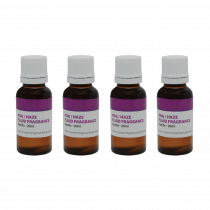 4x QTX Smoke Fluid Fragrance 20ml Vanilla
