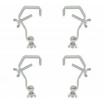 4x QTX G Clamp Hooks (50mm - 55mm)