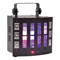 QTX Surge 4-in-1 LED & Laser Effect inc. Remote
