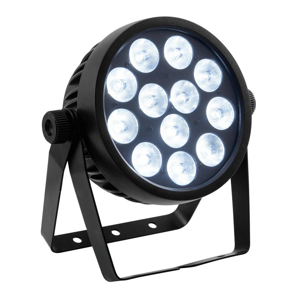 Eurolite 4c 12 Led Silent Spot Led Par Can Light 12 X 8w Rgbw Dmx Inc Remote