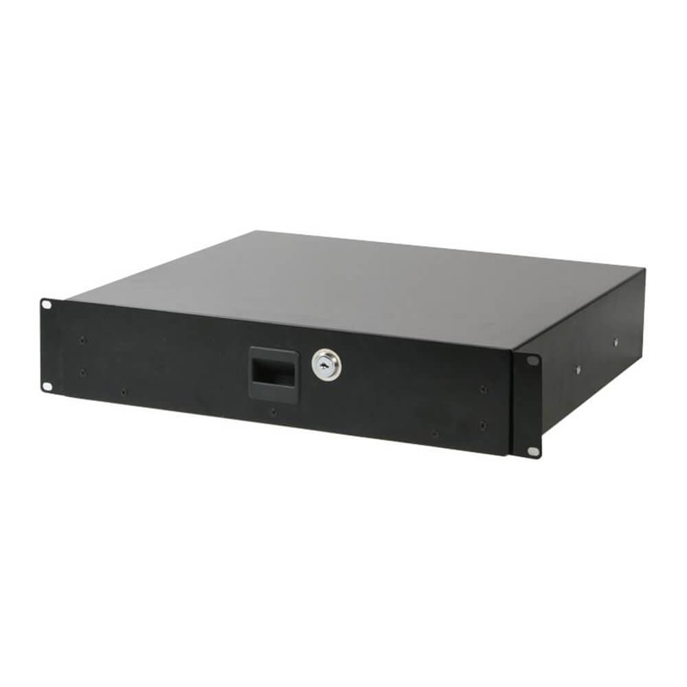 "Pulse RD2 19"" Locking 2U Rack Drawer"