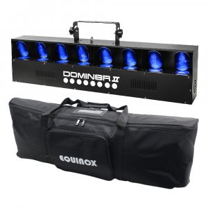 Equinox Domin8r (MKII) LED Scanner with Carry Bag