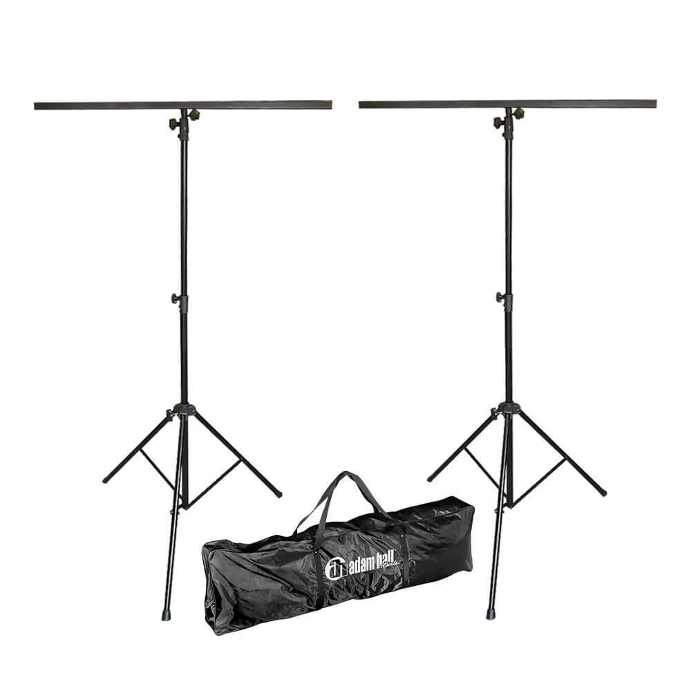 2x Thor LS002 Tripod Lighting Stands with TBars inc. Carry Bag