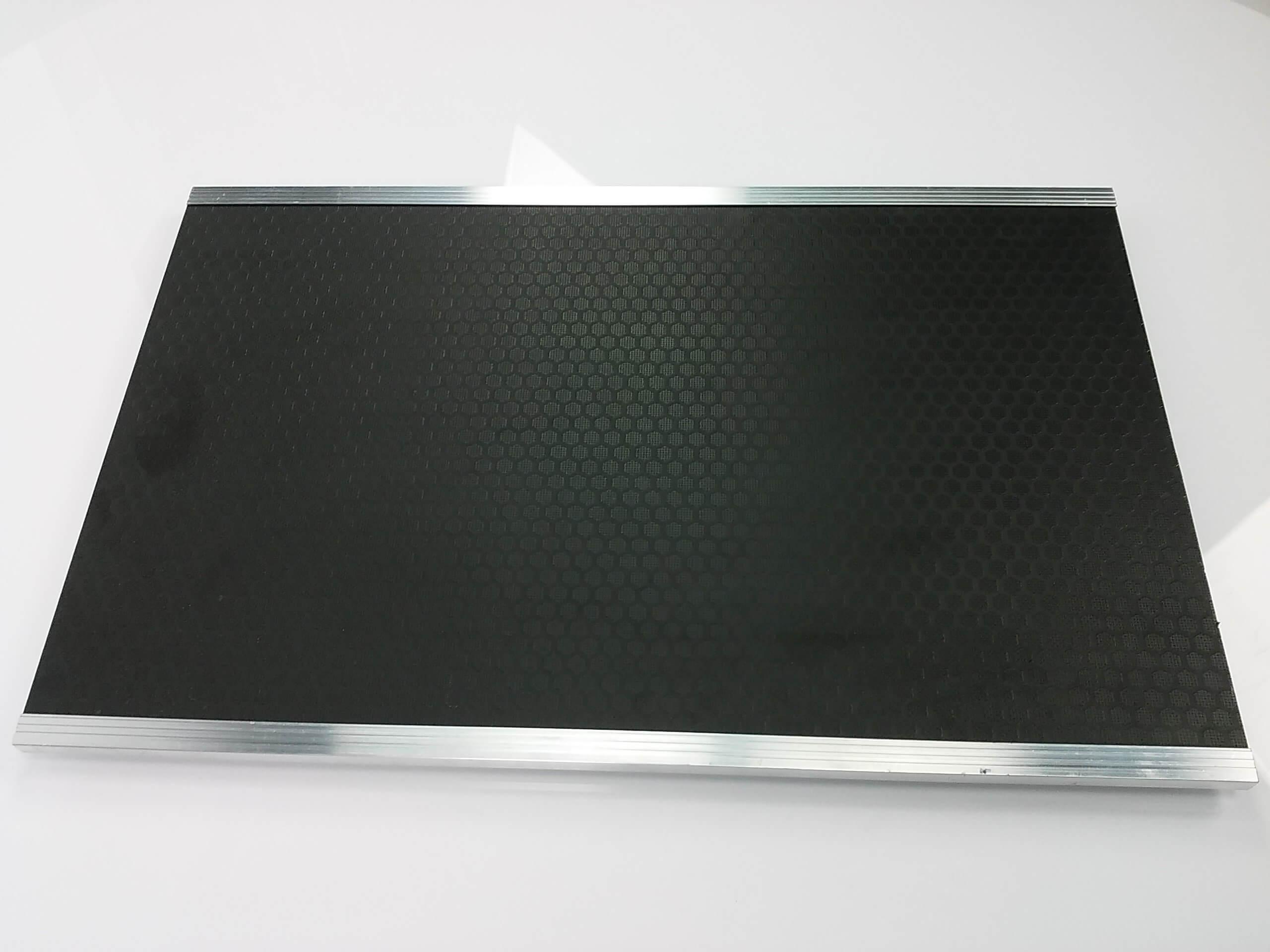 Black Desk Shelf for 4ft Deckstand