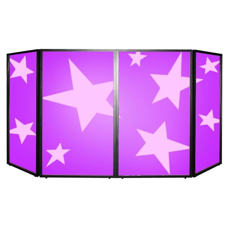SS Foldable DJ Screen Stand