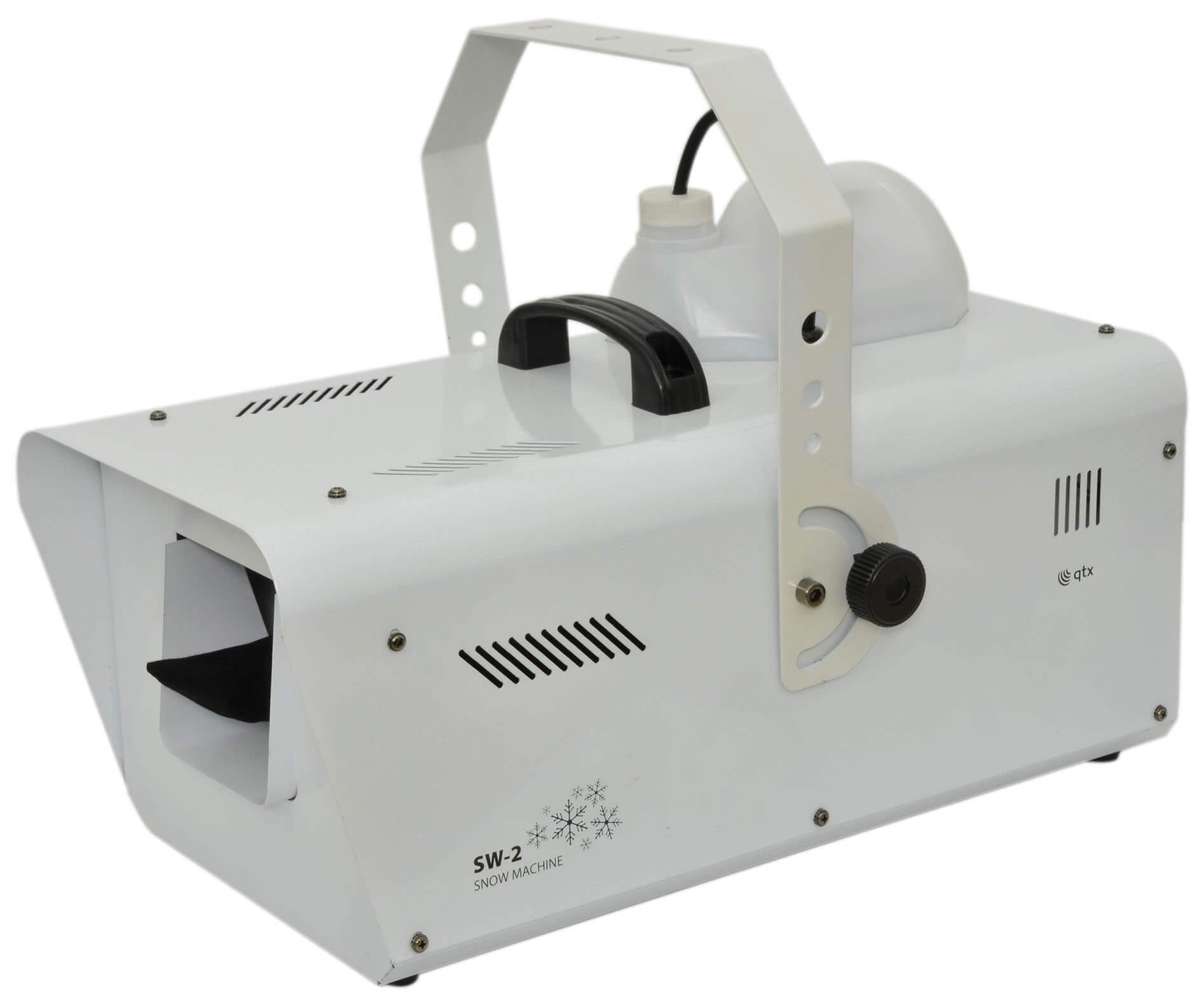 QTX SW2 1200w Snow / Foam Machine inc. Remote