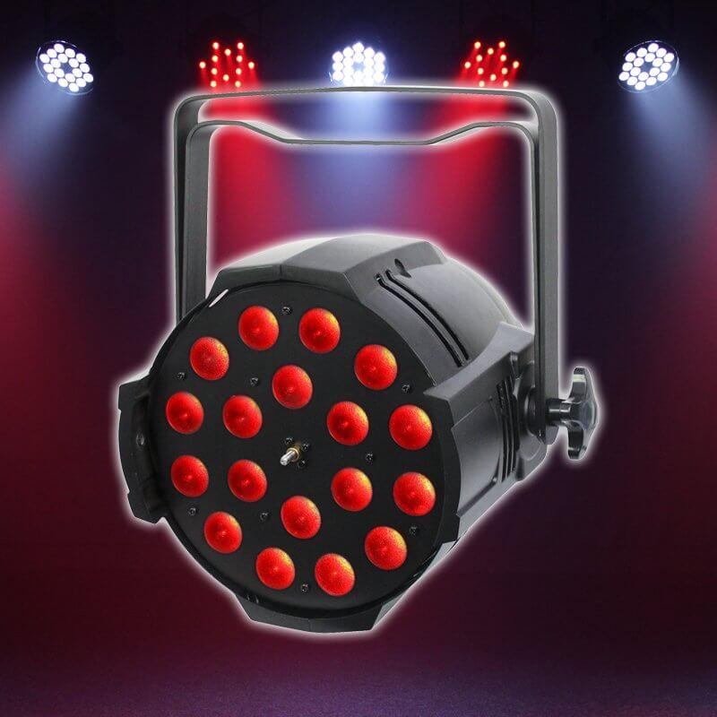 LEDJ Performer 18 Quad Zoom 18 x 8w LED Stage Light Par Can