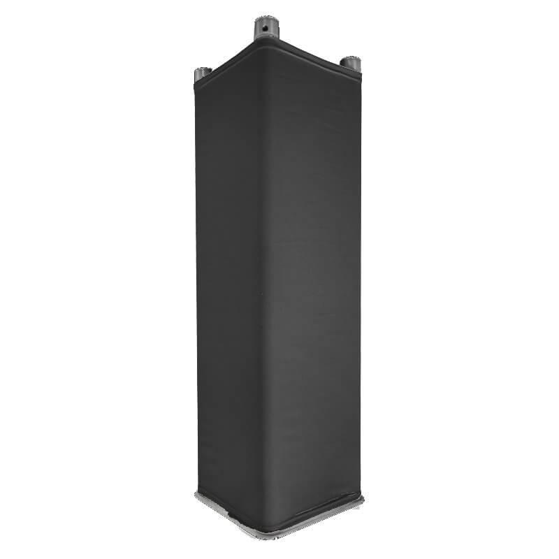 Quad 1.5M Truss Cover Black Scrim Sox Sleeve