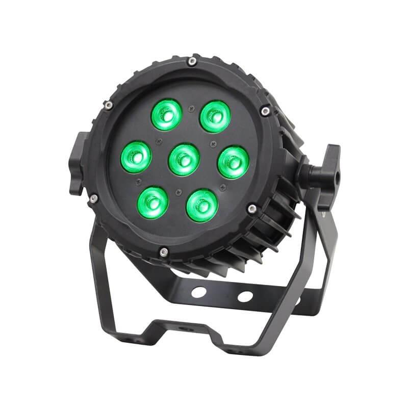 LEDJ Spectra PAR 7Q8 RGBW 7 x 8W LED Par Can Light Washer Uplighter Outdoor IP65