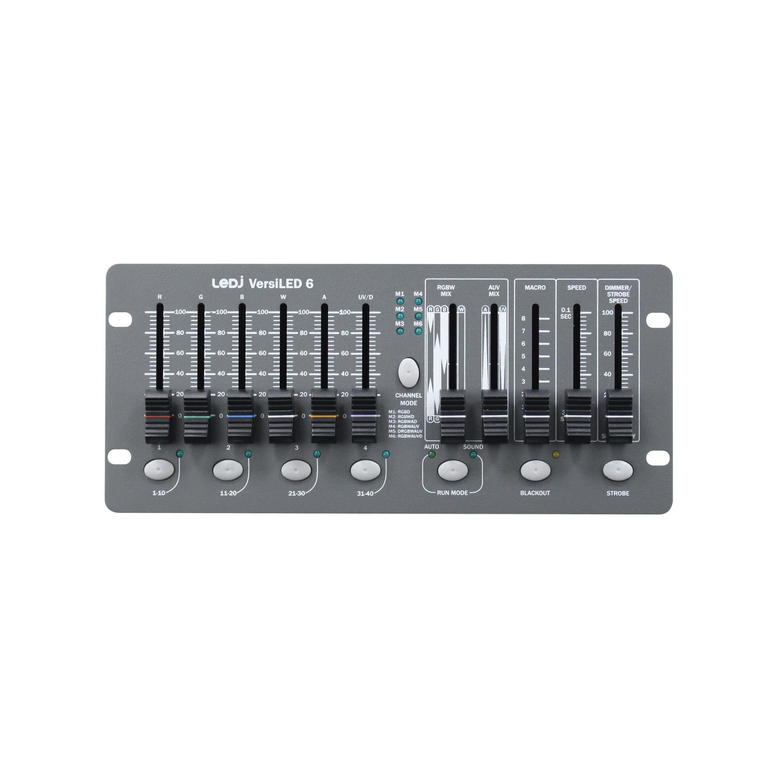 LEDJ VersiLED 6 DMX Controller