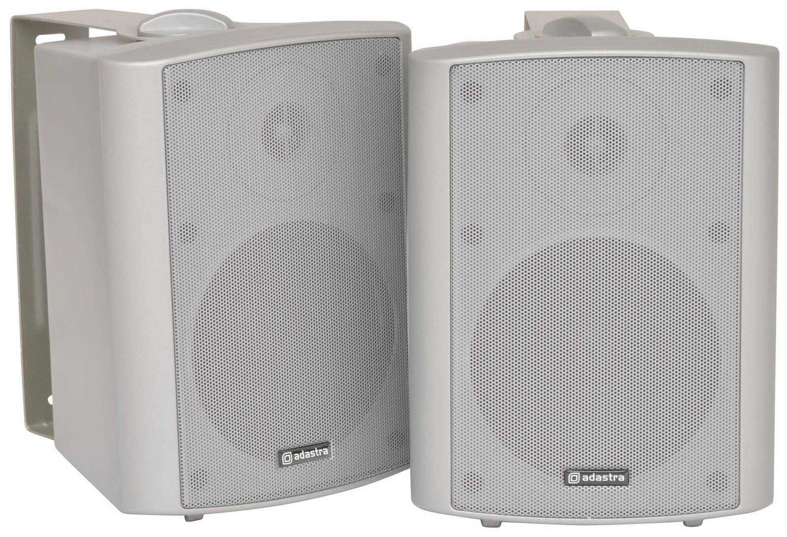 QTX BC5A Silver Amplified Stereo Set of Speakers