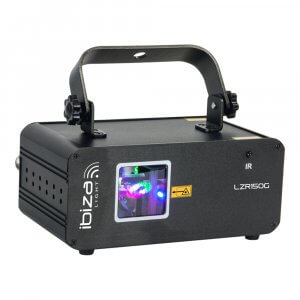 Ibiza Light LZR150G Green Graphic Laser 150mW DJ Disco Light