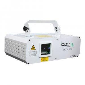 Ibiza RGB Show Scanner Laser 500MW Tunnel Wave Effect Lighting Animation