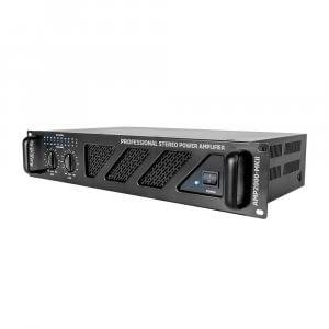 Ibiza Sound AMP2000-MKII Power Amplifier 3000W PA Sound System DJ Disco Amp