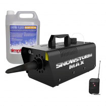 Snowstorm Max 500W Snow Machine inc. 5L Snow Fluid