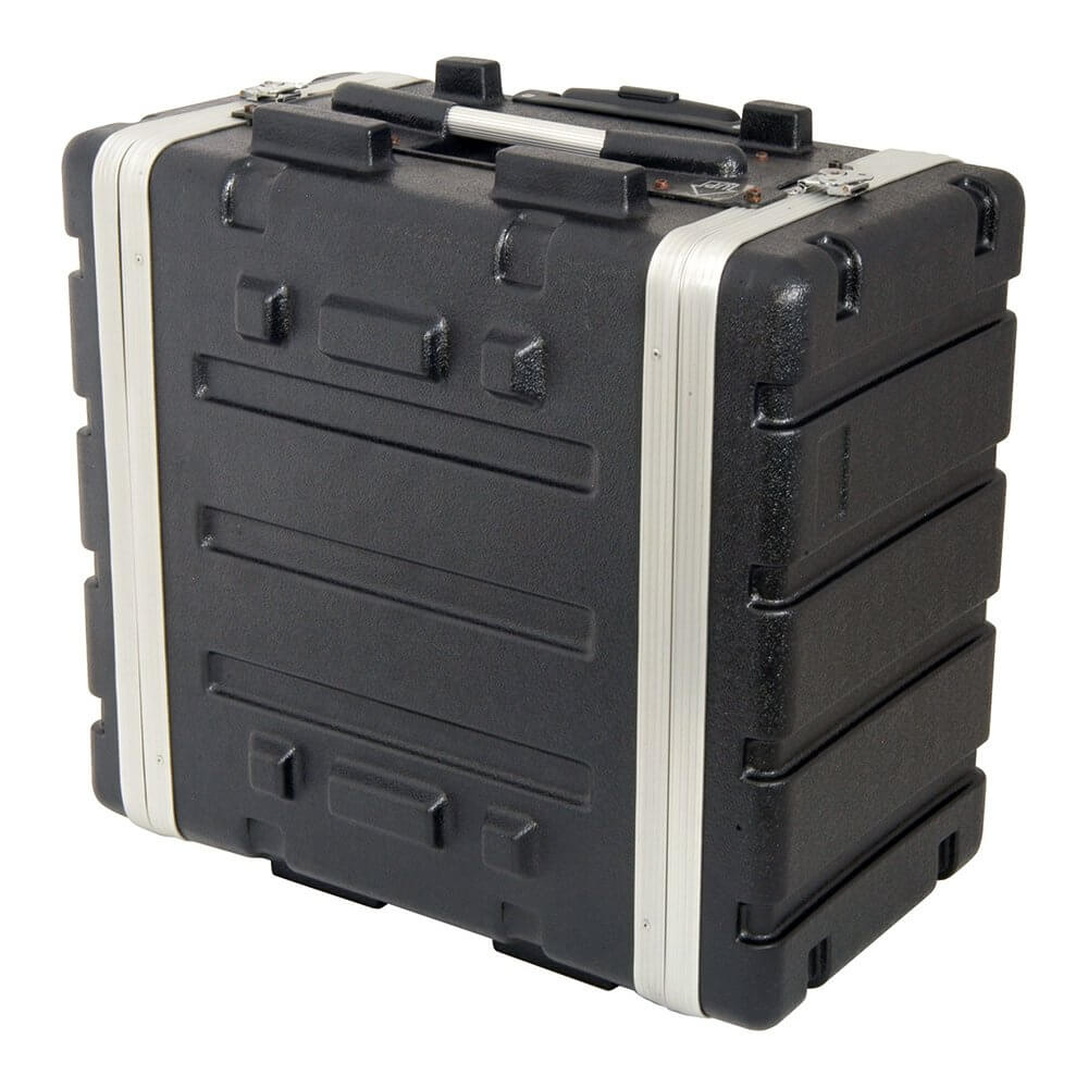 Citronic 6U ABS Rack Trolley Case