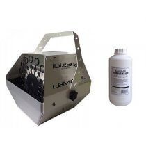 Ibiza Light High Output Bubble Machine inc. 1L Fluid