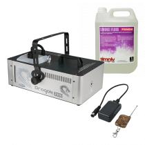 Showtec Dragon 2000W Smoke Machine inc. Remote and 5L Fluid